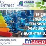 Conferencia: Eficiencia energética en sistemas de acueducto y alcantarillado
