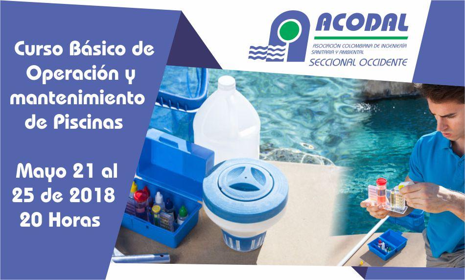 Curso b sico operaci n y mantenimiento de piscinas for Curso mantenimiento piscinas
