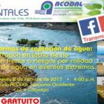 Vídeo Transmisión en Vivo: Jueves Ambiental ACODAL Febrero – Nuevas formas de captación de agua