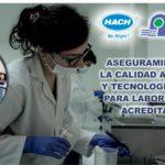 Charla Gratuita Aseguramiento de la calidad analítica y tecnologías HACH para laboratorios acreditados
