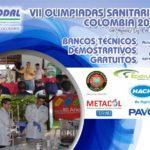 BANCOS TÉCNICOS DEMOSTRATIVOS Y OBSERVADOR DE PRUEBA DE LAS VII olimpiadas sanitarias COLOMBIA