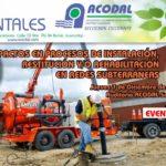 Jueves Ambientales ACODAL – Impactos en procesos de instalación, restitución y/o rehabilitación en redes subterráneas – Diciembre 7 de 2017